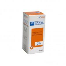 BC Sodium Hipochlorite լուծույթ (100մլ / 3%)