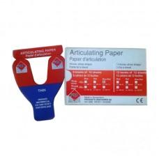 Արտիկուլացիոն թուղթ, պայտաձև PD (1 հատ)